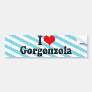 I Love Gorgonzola Bumper Sticker