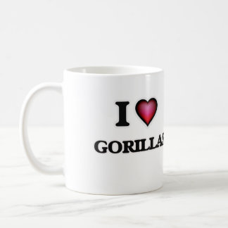I Love Gorillas Coffee Mug