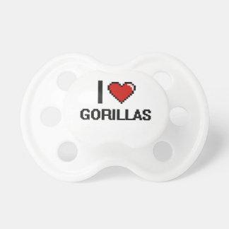 I love Gorillas Digital Design BooginHead Pacifier