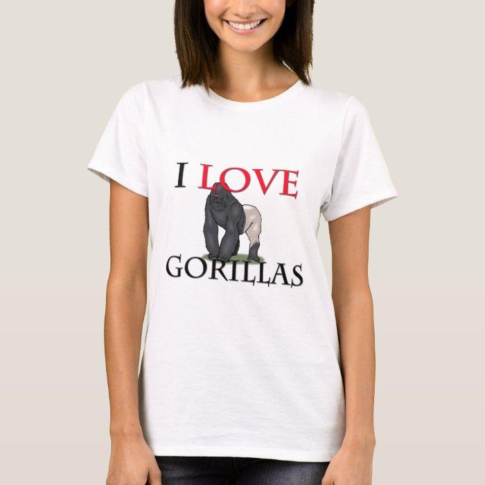 I Love Gorillas T-Shirt