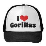 I Love Gorillas Trucker Hats
