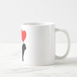 I love Gos d'atura català Taza De Café