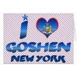 I love Goshen, New York Greeting Card
