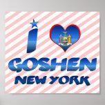 I love Goshen, New York Poster