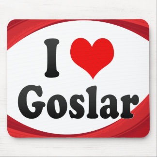 I Love Goslar Germany Ich Liebe Goslar Germany Mousepads