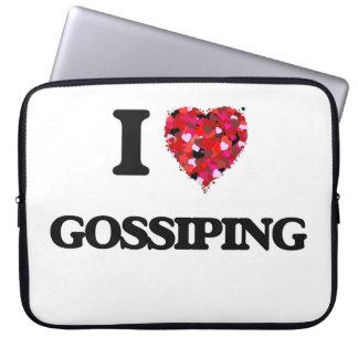 I Love Gossiping Laptop Computer Sleeve