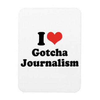 I LOVE GOTCHA JOURNALISM - .png Rectangular Magnet