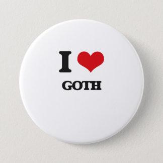 I Love GOTH Button