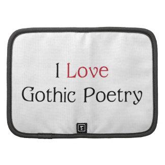 I Love Gothic Poetry Folio/Planner
