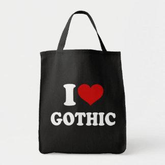 I Love Gothic Tote Bag