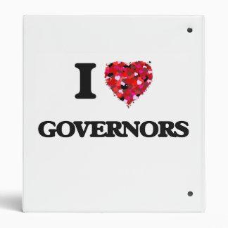 I love Governors 3 Ring Binder