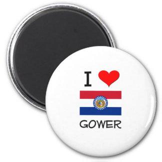 I Love Gower Missouri Fridge Magnet
