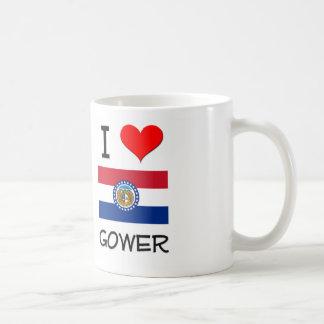 I Love Gower Missouri Classic White Coffee Mug