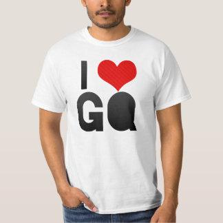 I Love GQ T-shirt