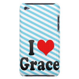 I love Grace Barely There iPod Cover