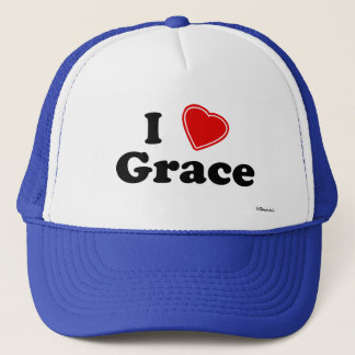 I Love Grace Trucker Hat
