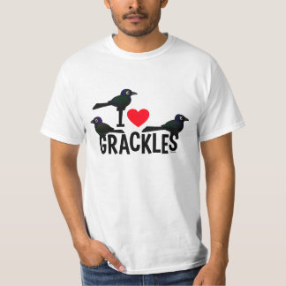 I Love Grackles T-Shirt