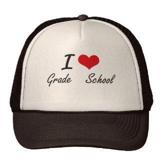 I love Grade   School Trucker Hat