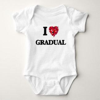 I Love Gradual Shirts