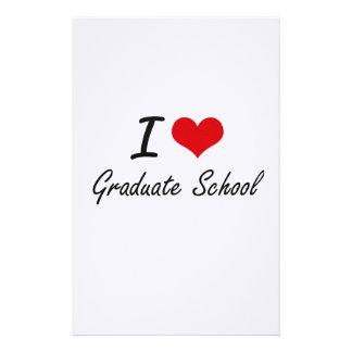 I love Graduate School Stationery