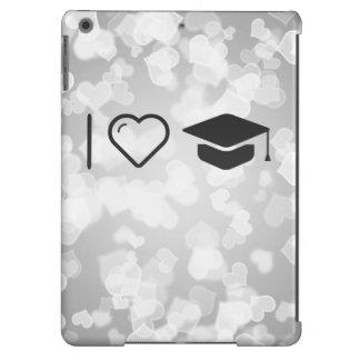 I Love Graduation Fees iPad Air Cover