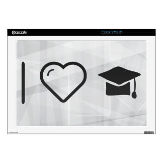I Love Graduation Vows Decals For Laptops