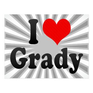 I love Grady Postcards