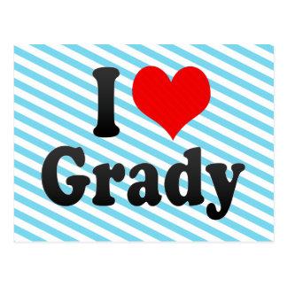 I love Grady Post Card