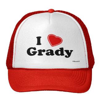I Love Grady Trucker Hat
