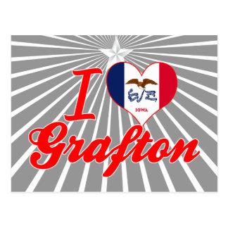 I Love Grafton, Iowa Post Card