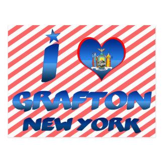 I love Grafton, New York Postcards