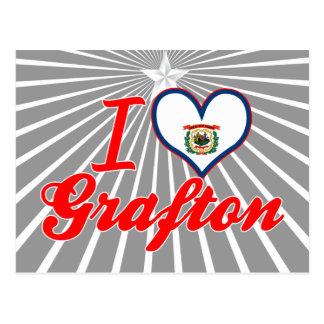 I Love Grafton, West Virginia Post Card