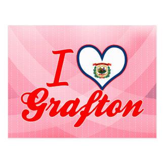 I Love Grafton, West Virginia Post Cards