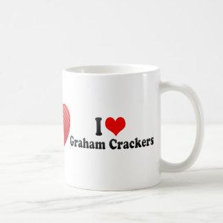 I Love Graham Crackers Classic White Coffee Mug