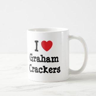 I love Graham Crackers heart T-Shirt Classic White Coffee Mug