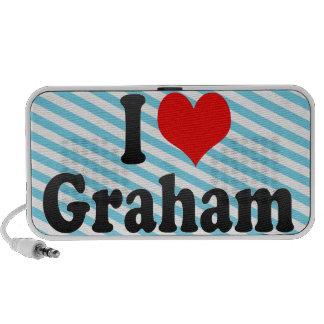 I love Graham Speakers