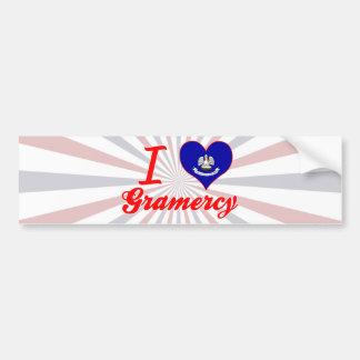 I Love Gramercy, Louisiana Bumper Stickers