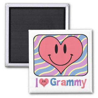 I Love Grammy Magnet