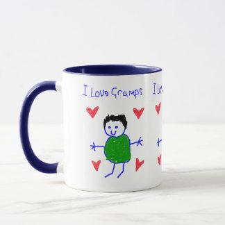 I Love Gramps Mug