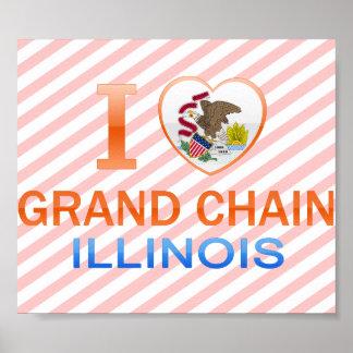 I Love Grand Chain, IL Posters