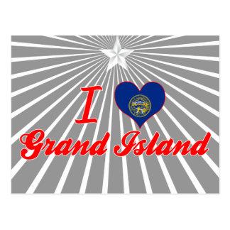 I Love Grand Island, Nebraska Post Card