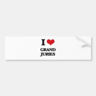 I love Grand Juries Bumper Sticker