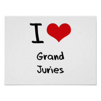 I Love Grand Juries Print