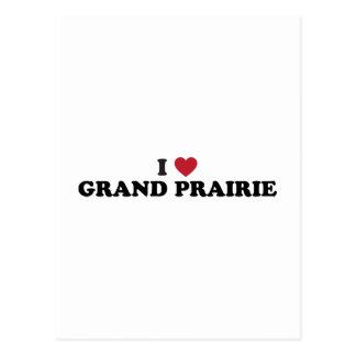 I Love Grand Prairie Texas Postcard