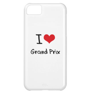 I Love Grand Prix iPhone 5C Cases