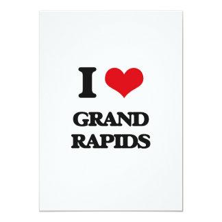 "I love Grand Rapids 5"" X 7"" Invitation Card"