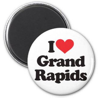 I Love Grand Rapids Magnet