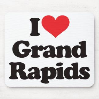 I Love Grand Rapids Mouse Pad