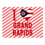 I love Grand Rapids, Ohio Postcards
