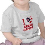 I love Grand Rapids, Ohio Tees